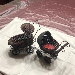 Miniature strollers